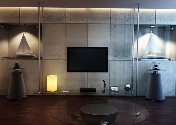 Uchwyt LED TV LC-U8S 55C Flat - Uchwyty LED
