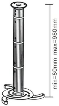 Uchwyt do projektora LC-P2 980 - Uchwyty projektorów
