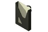 LC-TRAD100 - półka metalowa na dokumenty