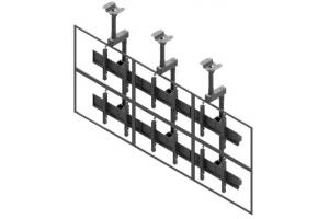 LCC3257-L - Uchwyt sufitowy do videościany 3x2 / 50